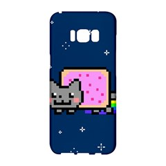 Nyan Cat Samsung Galaxy S8 Hardshell Case  by Onesevenart