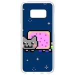 Nyan Cat Samsung Galaxy S8 White Seamless Case