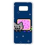 Nyan Cat Samsung Galaxy S8 Plus White Seamless Case