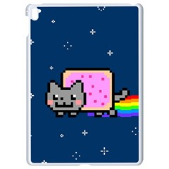 Nyan Cat Apple Ipad Pro 9 7   White Seamless Case by Onesevenart