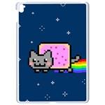Nyan Cat Apple iPad Pro 9.7   White Seamless Case