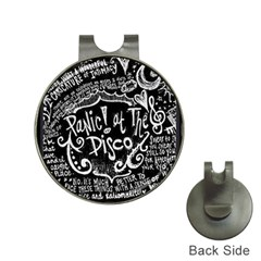 Panic ! At The Disco Lyric Quotes Hat Clips With Golf Markers by Onesevenart