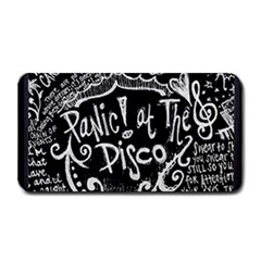 Panic ! At The Disco Lyric Quotes Medium Bar Mats by Onesevenart