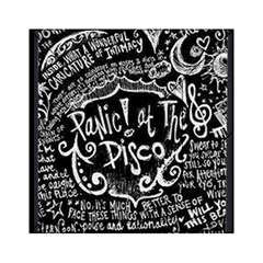 Panic ! At The Disco Lyric Quotes Acrylic Tangram Puzzle (6  X 6 ) by Onesevenart