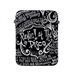Panic ! At The Disco Lyric Quotes Apple Ipad 2/3/4 Protective Soft Cases by Onesevenart