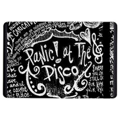 Panic ! At The Disco Lyric Quotes Ipad Air 2 Flip by Onesevenart