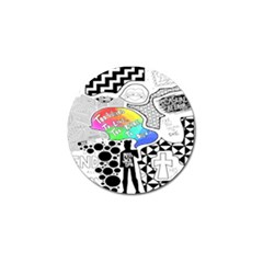 Panic ! At The Disco Golf Ball Marker (10 Pack) by Onesevenart