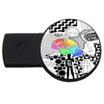 Panic ! At The Disco USB Flash Drive Round (2 GB)
