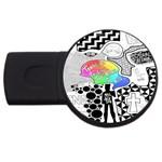 Panic ! At The Disco USB Flash Drive Round (4 GB)