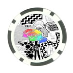 Panic ! At The Disco Poker Chip Card Guard