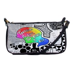 Panic ! At The Disco Shoulder Clutch Bags by Onesevenart