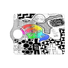 Panic ! At The Disco Kindle Fire Hd (2013) Flip 360 Case by Onesevenart
