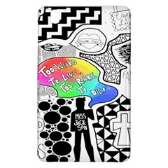 Panic ! At The Disco Samsung Galaxy Tab Pro 8 4 Hardshell Case by Onesevenart