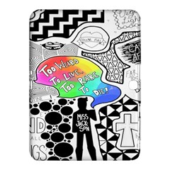 Panic ! At The Disco Samsung Galaxy Tab 4 (10 1 ) Hardshell Case  by Onesevenart