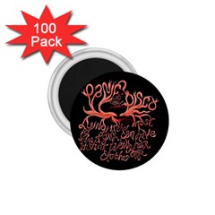 Panic At The Disco   Lying Is The Most Fun A Girl Have Without Taking Her Clothes 1 75  Magnets (100 Pack)  by Onesevenart