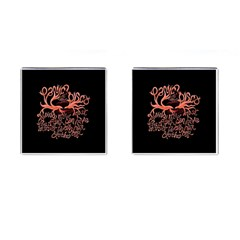 Panic At The Disco   Lying Is The Most Fun A Girl Have Without Taking Her Clothes Cufflinks (square) by Onesevenart