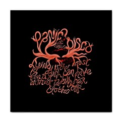 Panic At The Disco   Lying Is The Most Fun A Girl Have Without Taking Her Clothes Face Towel by Onesevenart