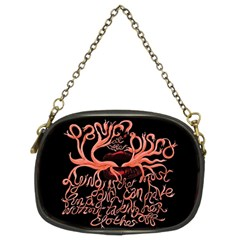 Panic At The Disco   Lying Is The Most Fun A Girl Have Without Taking Her Clothes Chain Purses (two Sides)  by Onesevenart