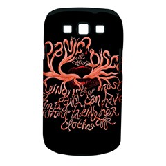 Panic At The Disco   Lying Is The Most Fun A Girl Have Without Taking Her Clothes Samsung Galaxy S Iii Classic Hardshell Case (pc+silicone) by Onesevenart