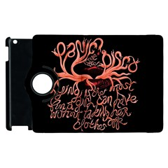 Panic At The Disco   Lying Is The Most Fun A Girl Have Without Taking Her Clothes Apple Ipad 3/4 Flip 360 Case by Onesevenart