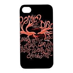 Panic At The Disco   Lying Is The Most Fun A Girl Have Without Taking Her Clothes Apple Iphone 4/4s Hardshell Case With Stand by Onesevenart