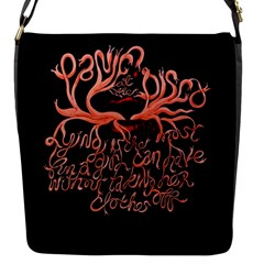 Panic At The Disco   Lying Is The Most Fun A Girl Have Without Taking Her Clothes Flap Messenger Bag (s) by Onesevenart