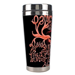 Panic At The Disco   Lying Is The Most Fun A Girl Have Without Taking Her Clothes Stainless Steel Travel Tumblers by Onesevenart