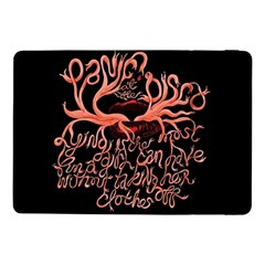 Panic At The Disco   Lying Is The Most Fun A Girl Have Without Taking Her Clothes Samsung Galaxy Tab Pro 10 1  Flip Case by Onesevenart