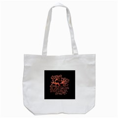 Panic At The Disco   Lying Is The Most Fun A Girl Have Without Taking Her Clothes Tote Bag (white) by Onesevenart
