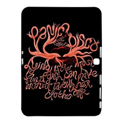 Panic At The Disco   Lying Is The Most Fun A Girl Have Without Taking Her Clothes Samsung Galaxy Tab 4 (10 1 ) Hardshell Case  by Onesevenart