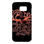 Panic At The Disco   Lying Is The Most Fun A Girl Have Without Taking Her Clothes Samsung Galaxy S7 Edge Hardshell Case