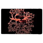 Panic At The Disco   Lying Is The Most Fun A Girl Have Without Taking Her Clothes Apple iPad Pro 9.7   Flip Case