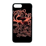 Panic At The Disco   Lying Is The Most Fun A Girl Have Without Taking Her Clothes Apple iPhone 7 Plus Seamless Case (Black)