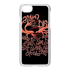 Panic At The Disco   Lying Is The Most Fun A Girl Have Without Taking Her Clothes Apple Iphone 7 Seamless Case (white) by Onesevenart