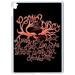 Panic At The Disco   Lying Is The Most Fun A Girl Have Without Taking Her Clothes Apple iPad Pro 9.7   White Seamless Case