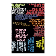 Panic At The Disco Northern Downpour Lyrics Metrolyrics Shower Curtain 48  X 72  (small)  by Onesevenart