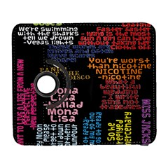 Panic At The Disco Northern Downpour Lyrics Metrolyrics Galaxy S3 (flip/folio) by Onesevenart
