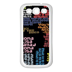 Panic At The Disco Northern Downpour Lyrics Metrolyrics Samsung Galaxy S3 Back Case (white) by Onesevenart