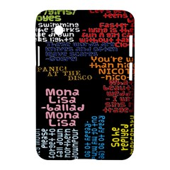 Panic At The Disco Northern Downpour Lyrics Metrolyrics Samsung Galaxy Tab 2 (7 ) P3100 Hardshell Case  by Onesevenart