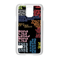 Panic At The Disco Northern Downpour Lyrics Metrolyrics Samsung Galaxy S5 Case (white) by Onesevenart