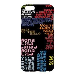 Panic At The Disco Northern Downpour Lyrics Metrolyrics Apple Iphone 6 Plus/6s Plus Hardshell Case by Onesevenart