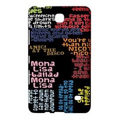 Panic At The Disco Northern Downpour Lyrics Metrolyrics Samsung Galaxy Tab 4 (8 ) Hardshell Case  by Onesevenart