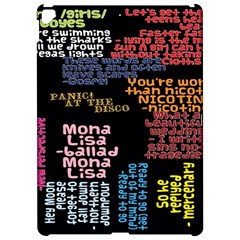 Panic At The Disco Northern Downpour Lyrics Metrolyrics Apple Ipad Pro 12 9   Hardshell Case by Onesevenart