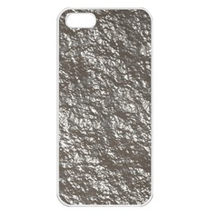 Crumpled Foil 17b Apple Iphone 5 Seamless Case (white) by MoreColorsinLife