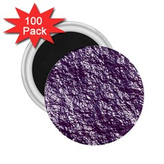 Crumpled Foil 17f 2 25  Magnets (100 Pack)  by MoreColorsinLife