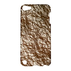 Crumpled Foil 17a Apple Ipod Touch 5 Hardshell Case by MoreColorsinLife