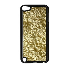 Crumpled Foil 17c Apple Ipod Touch 5 Case (black) by MoreColorsinLife