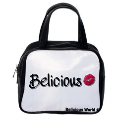 Belicious World Logo Classic Handbags (one Side) by beliciousworld