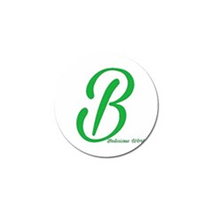 Belicious World  b  In Green Golf Ball Marker by beliciousworld