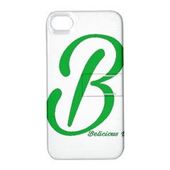 Belicious World  b  In Green Apple Iphone 4/4s Hardshell Case With Stand by beliciousworld
